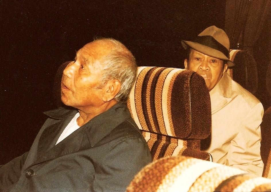 2. onderweg naar Capelle - bapa Agus Sopacuaperu en bapa Cos Sopacua